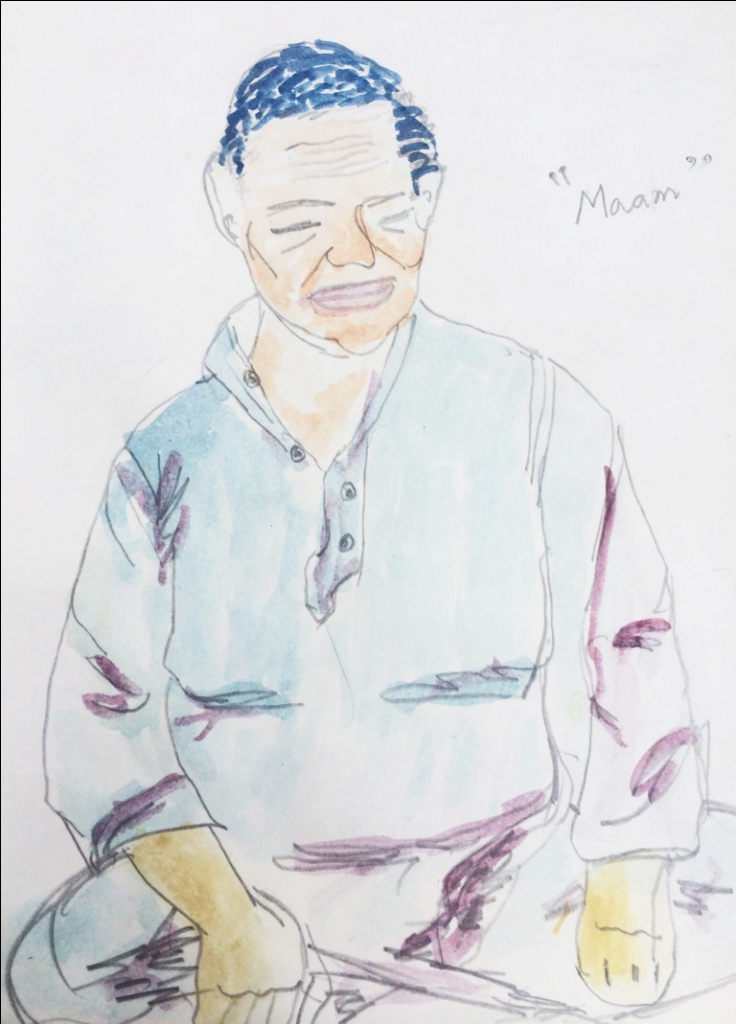 'Memory of an Uncle', Mahum Shabir.