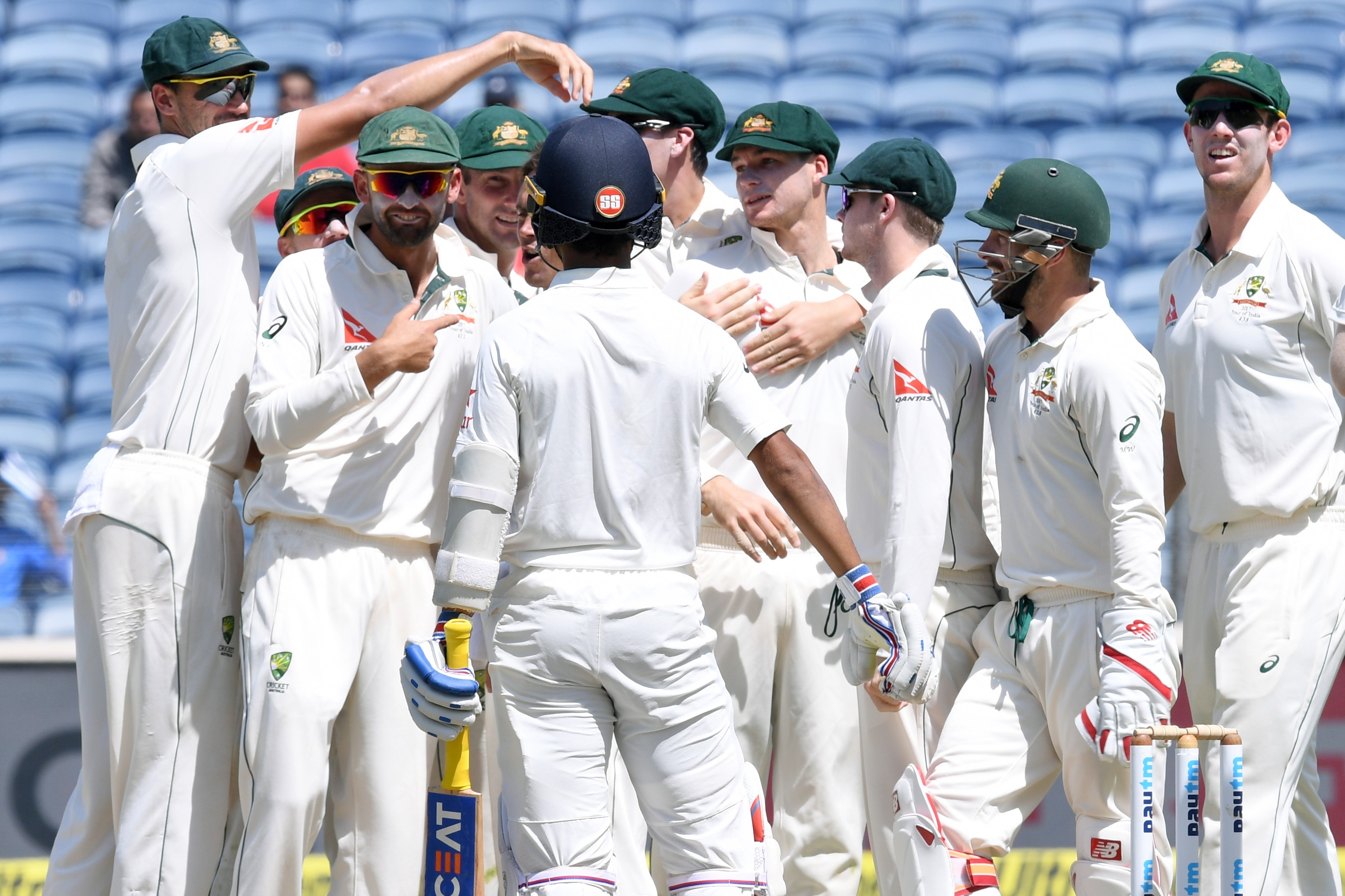 1ceb5e485bd India lost seven wickets for only 11 runs in their worst ever collapse in  Test cricket