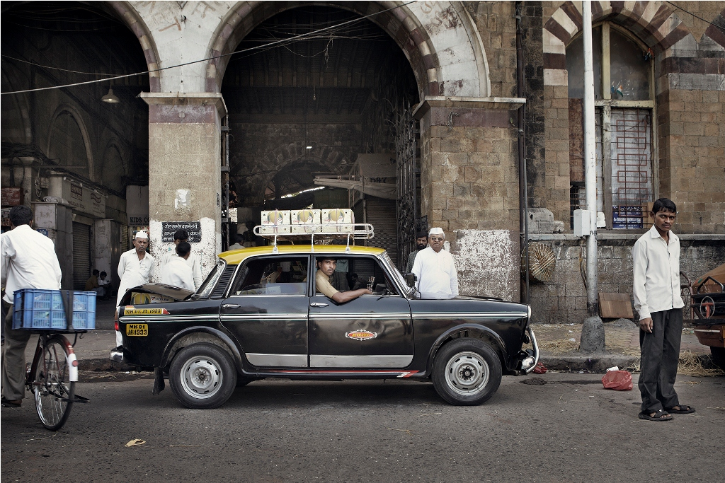 Mumbai Taxi Co. Photo credit: Markku Lahdesmaki