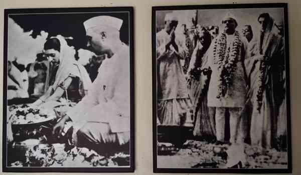 इंदिरा गांधी की विवाह की तस्वीरें
