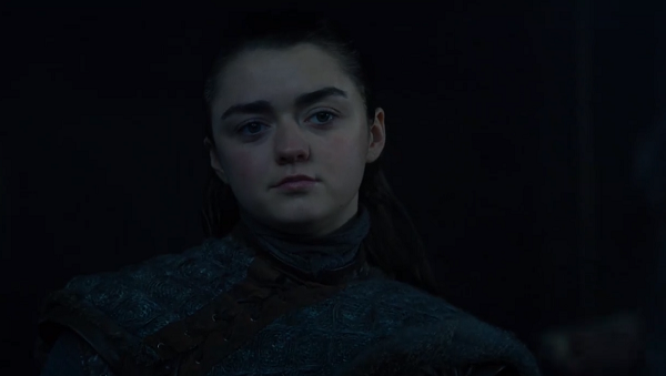 Arya Stark (Maisie Williams) in Game of Thrones. Courtesy HBO.