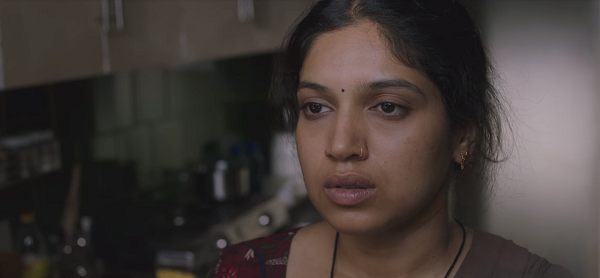 Bhumi Pednekar in Lust Stories. Image courtesy: Netflix.