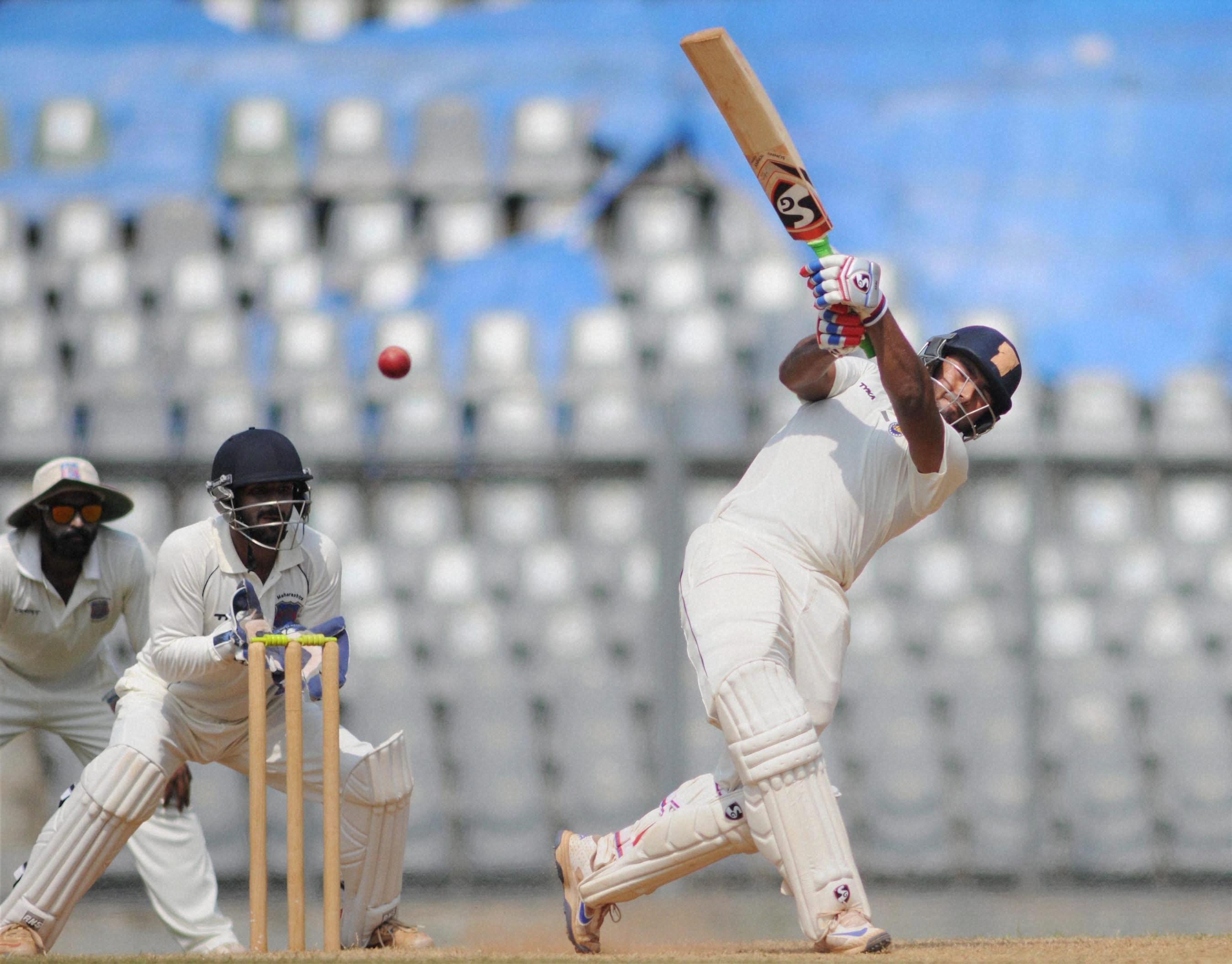 Rishabh Pant set the Ranji Trophy ablaze this season, hitting 972 runs, including a triple century (Image credit: PTI)