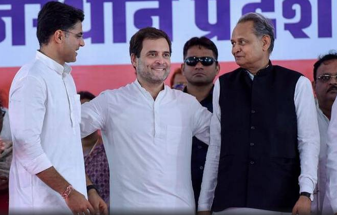 Rahul Gandhi has chosen not to name a chief ministerial candidate in Rajasthan lest it lead to infighting in the state unit. (Credit: PTI)