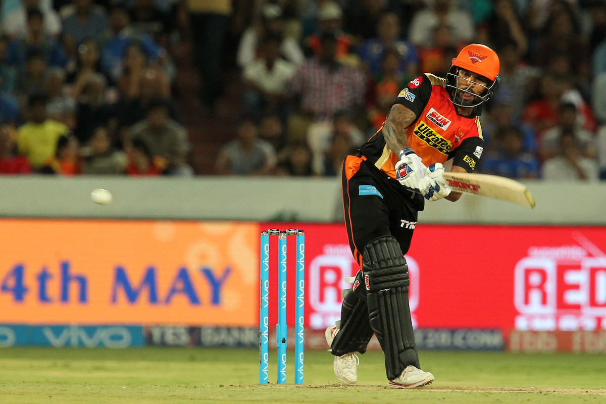 Sunrisers' decision to not retain Shikhar Dhawan was surprising (Image: Prashant Bhoot/Sportzpics/IPL)