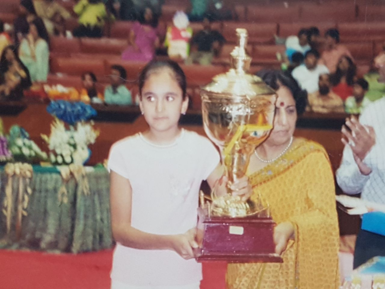 Manika Batra was a shy and introverted kid.
