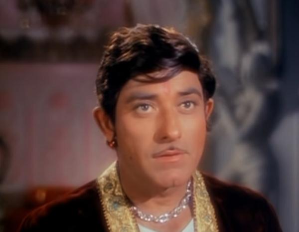 Raaj Kumar in Neel Kamal (1968). Courtesy Pannalal Maheshwari/Kalpanalok.