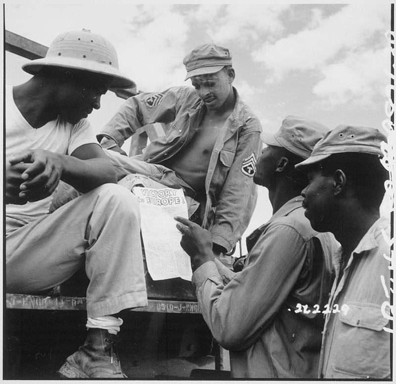 African-American soldiers in Burma. Image credit: Wikimedia Commons