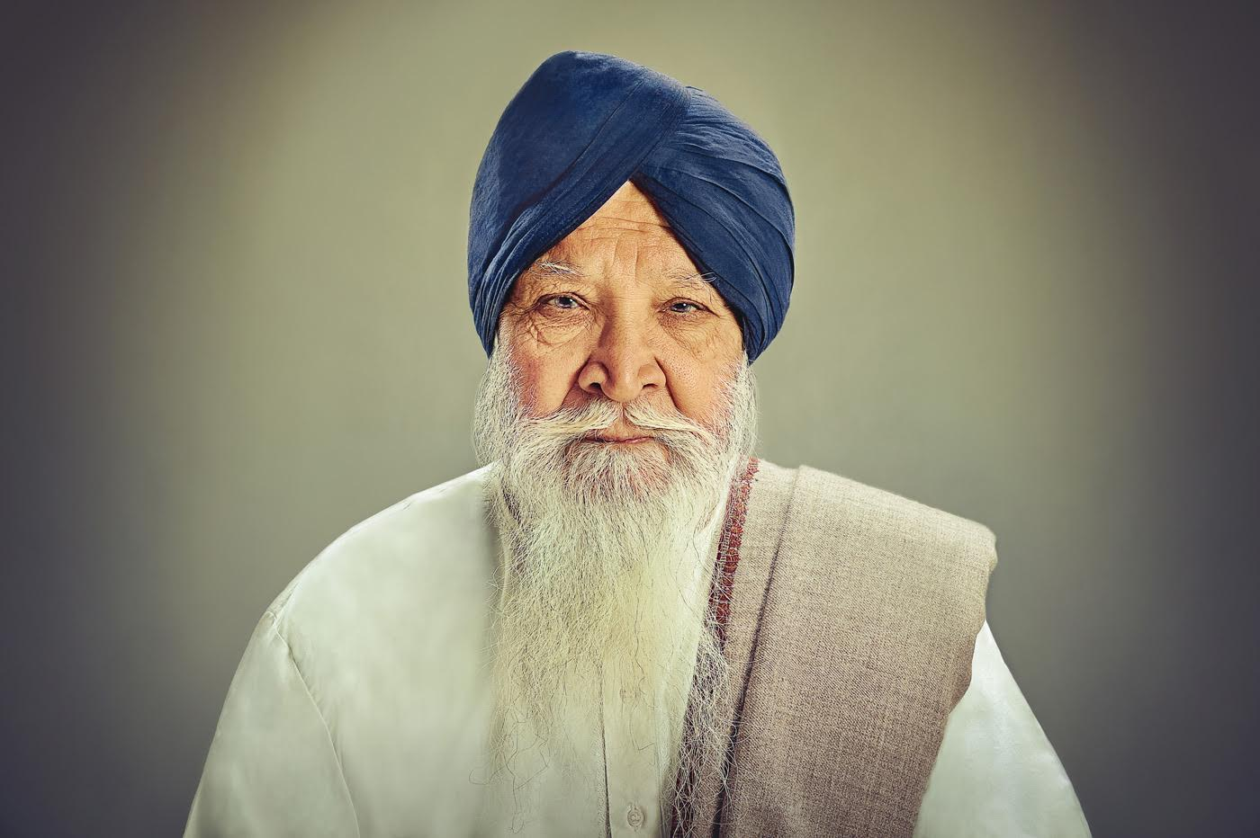 Darshan Singh Bhooi, retired businessman. (Photograph credit: Amit and Naroop).