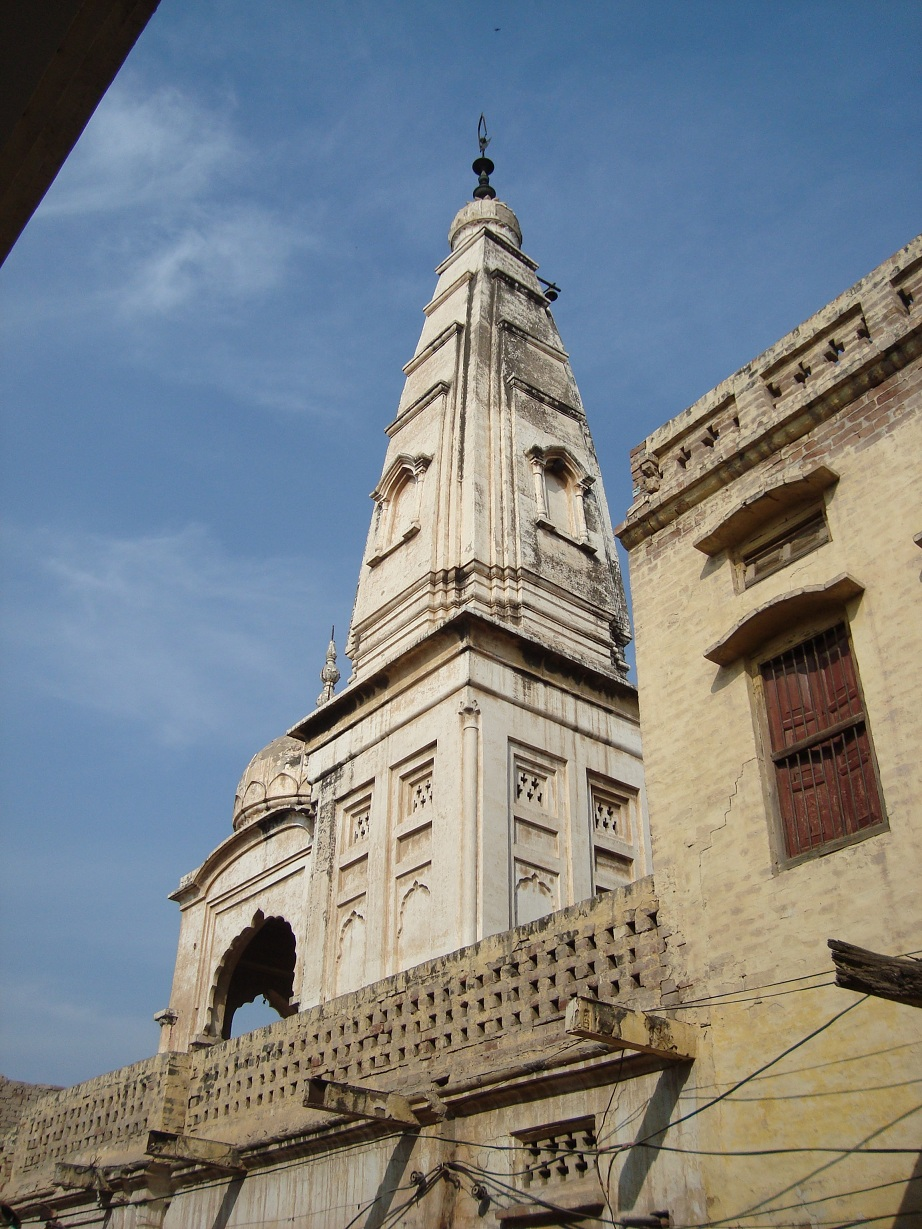 The temple at Nankana Sahib