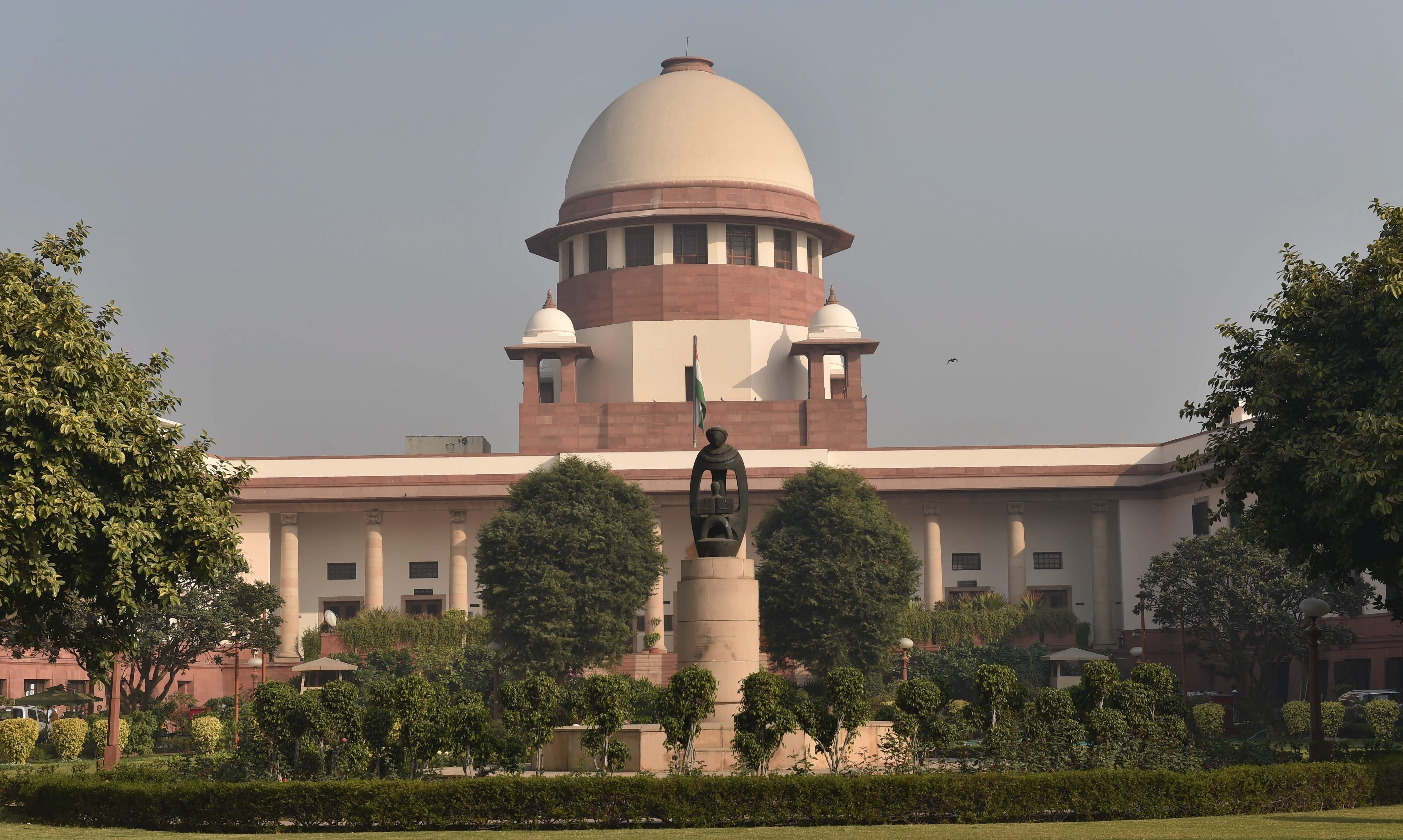 The Supreme Court will hear petitions challenging the constitutional validity of Article 35A of the Constitution after three months. (Credit: PTI)