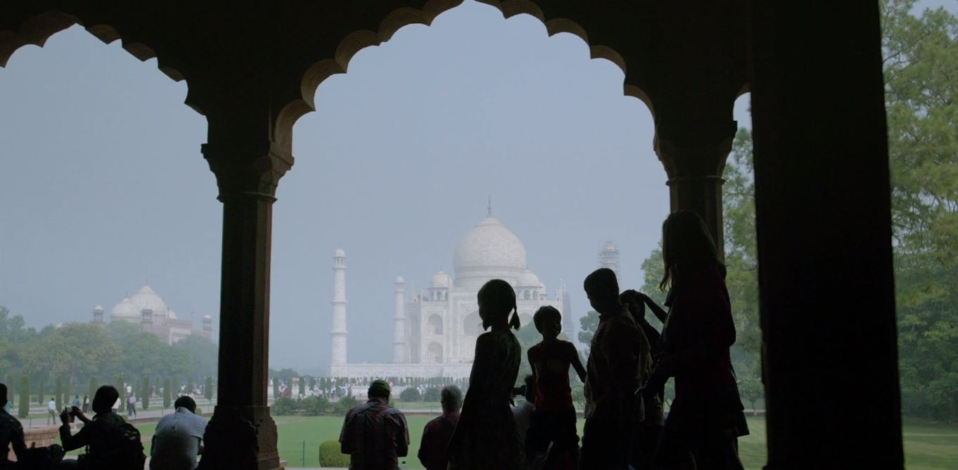 T for Taj Mahal. Image credit: Sony Pictures Networks India.