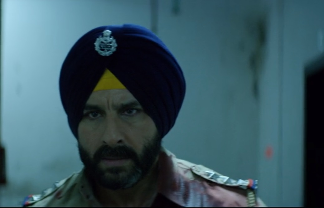 Saif Ali Khan in Sacred Games (2018). Courtesy Netflix.