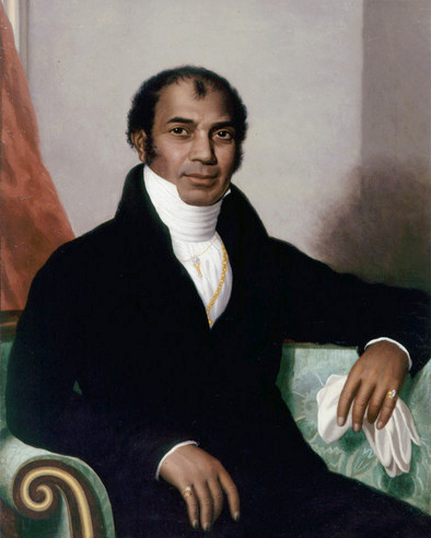 Sake Dean Mahomed (1759-1851), portrait from Royal Pavilion & Museums, Brighton & Hove. Photo credit: Wikimedia Commons [Public Domain]