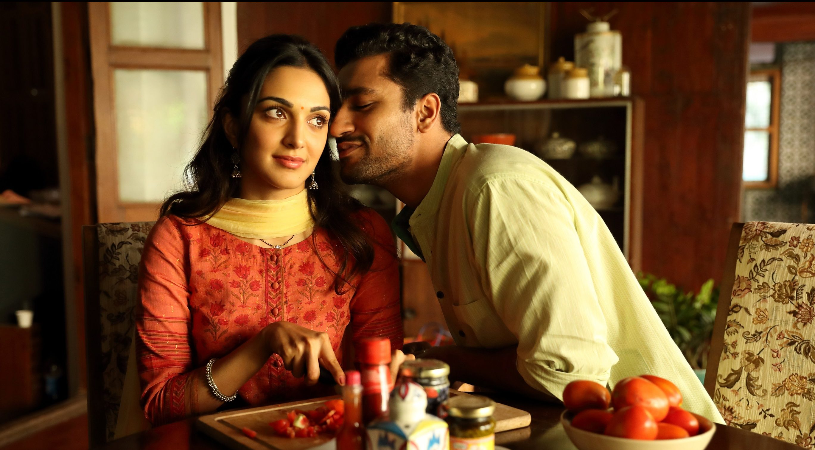 Kiara Advani and Vicky Kaushal in Lust Stories. Image credit: Netflix.