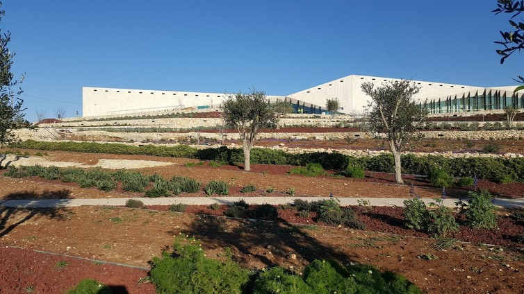 Landscaping. © The Palestinian Museum