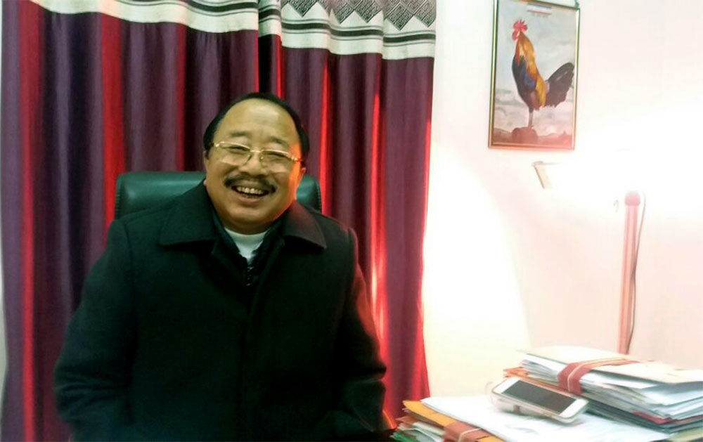 Imkong L Imchen, a minister in the Nagaland Government. Photo credit: Ipsita Chakravarty