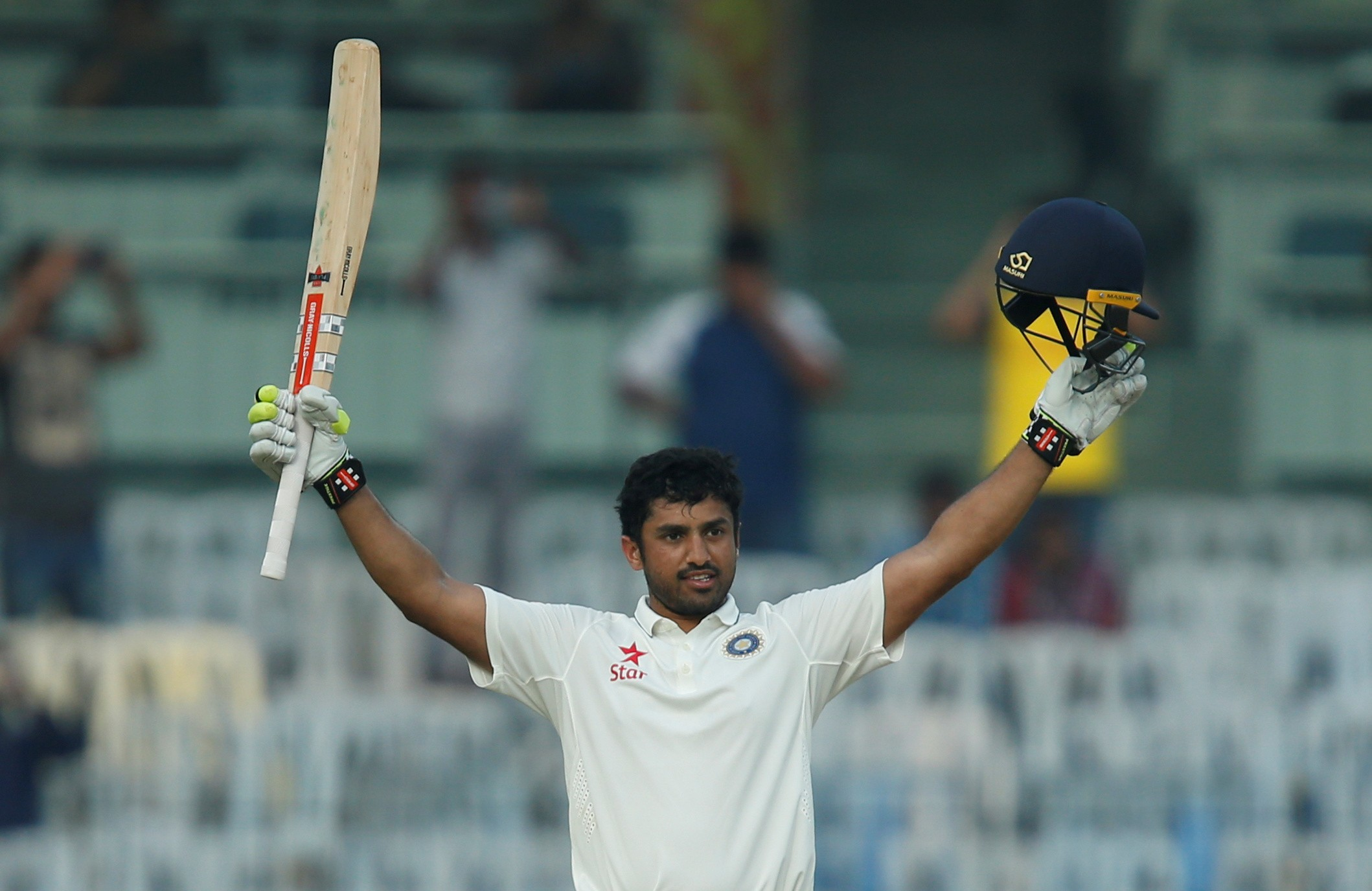 Karun Nair's triple century showed the strength of India's bench (Image credit: Reuters)