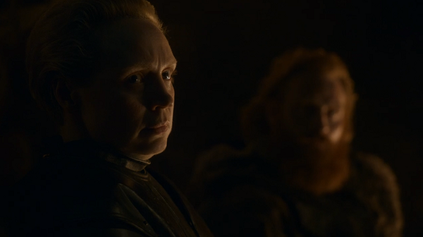 Brienne of Tarth (Gwendoline Christie) in Game of Thrones. Courtesy HBO.