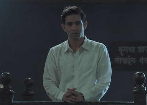Vikrant Massey in Criminal Justice (2019). Courtesy BBC India/Applause Entertainment/Hotstar.