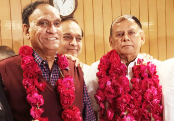 Ramsinh Parmar left the Congress for the BJP last August and was elected chairman of the Gujarat Cooperative Milk Marketing Federation in January. Photo courtesy Indiancooperative.com