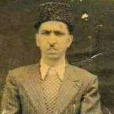 A picture of Noor ud Din  Shaal, Maqbool Sherwani's friend.