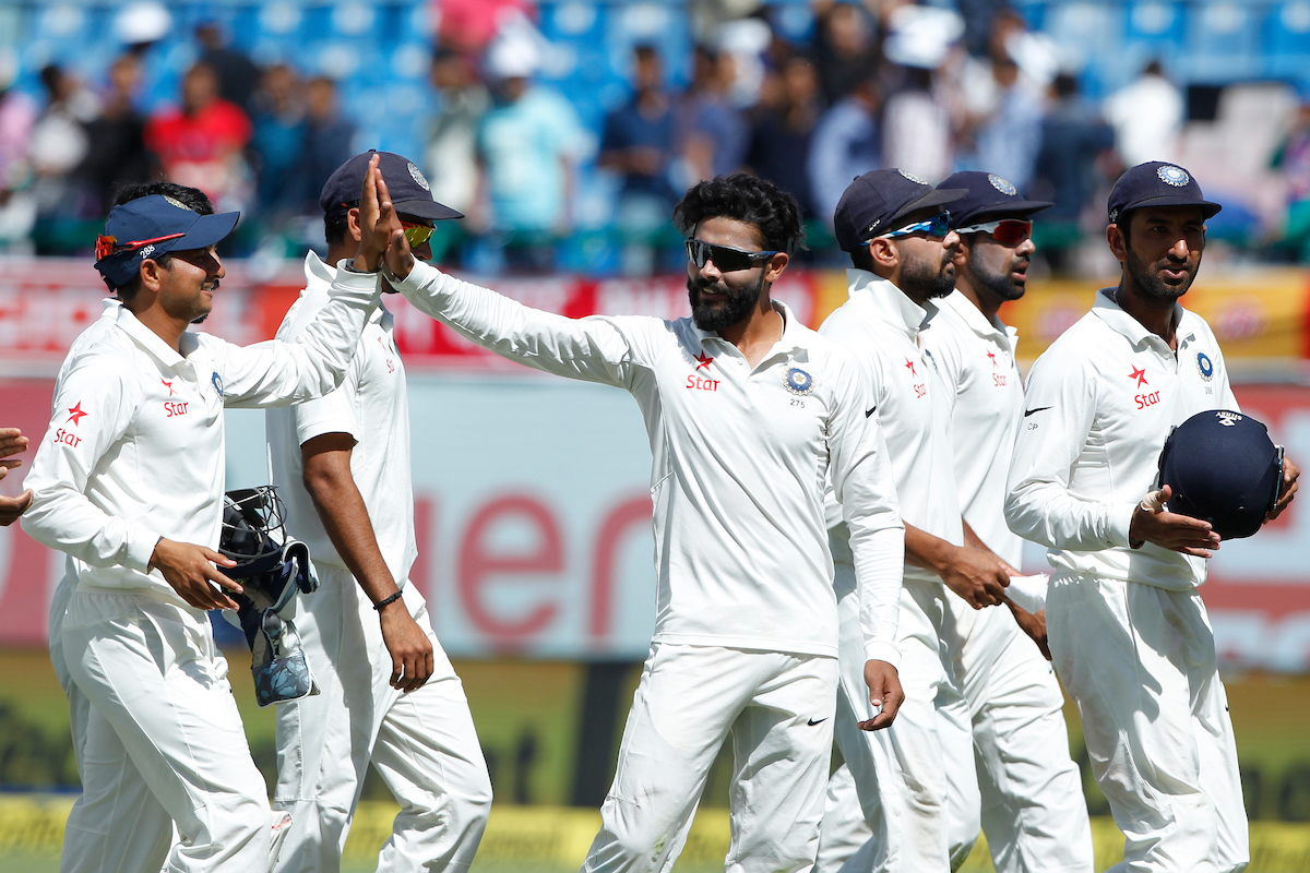 India's bowlers got Australia to collapse for the second time in this series (Deepak Malik/BCCI/SPORTZPICS)