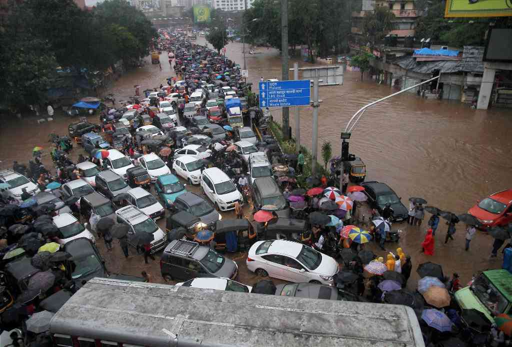 Myopic urban policies have contributed to the spiralling decline of cities like Mumbai. Photo credit: PTI