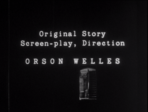 The credits sequence of the Corinth version of 'Mr Arkadin'.
