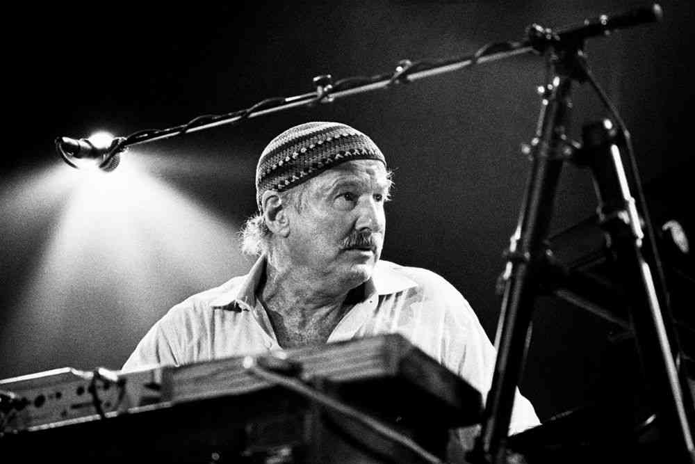 Joe Zawinul, 2001. Photos courtesy: Farrokh Chothia/PHOTOINK.