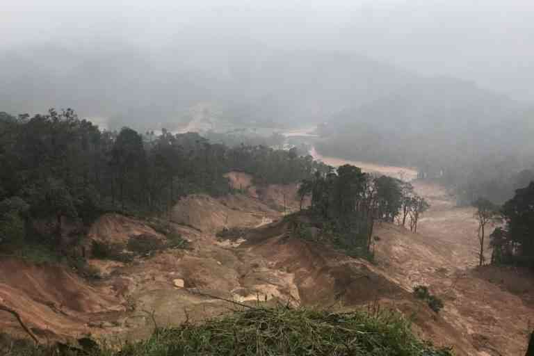 The rain ploughed through Kodagu district, causing massive destruction. (Photo credit: Prajna GR)
