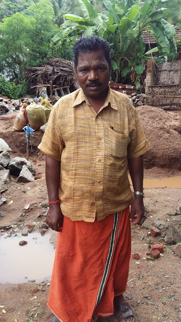 Plachimada resident Murugesan says water from wells in the area cannot be used for drinking, cooking or bathing.