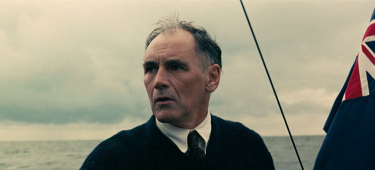 Mark Rylance in Durnkirk. Image credit: Warner Bros.
