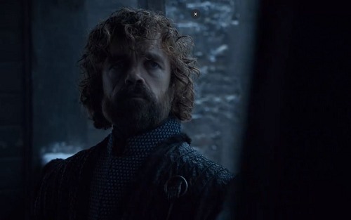 Tyrion Lannister (Peter Dinklage) in Game of Thrones. Courtesy HBO.