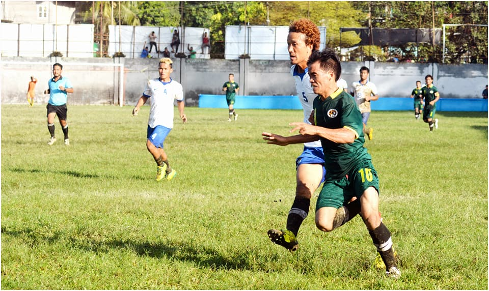 Capital Complex FC play out a goal less draw with Bamang Taji FC in the Arunachal Super League. (Image courtesy: Arunachal Super League)