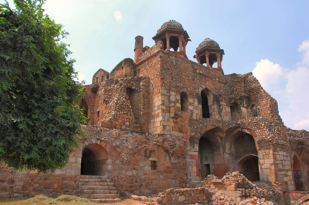 Purana Qila. Photo credit: Russ Bowling via Flickr [Licensed under CC BY 2.0]