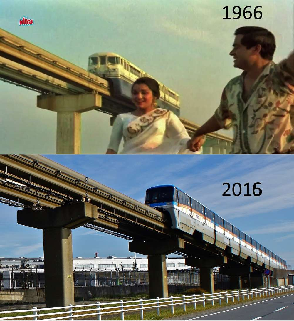 "The monorail that connects Haneda Airport to Minado Station was built in 1964. Prabhune says, ""I returned from London last month and instead of going back home, strolled around the airport to locate the venue."""