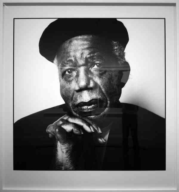 Portrait of Chinua Achebe by Steve Pyke (2008) via Flickr