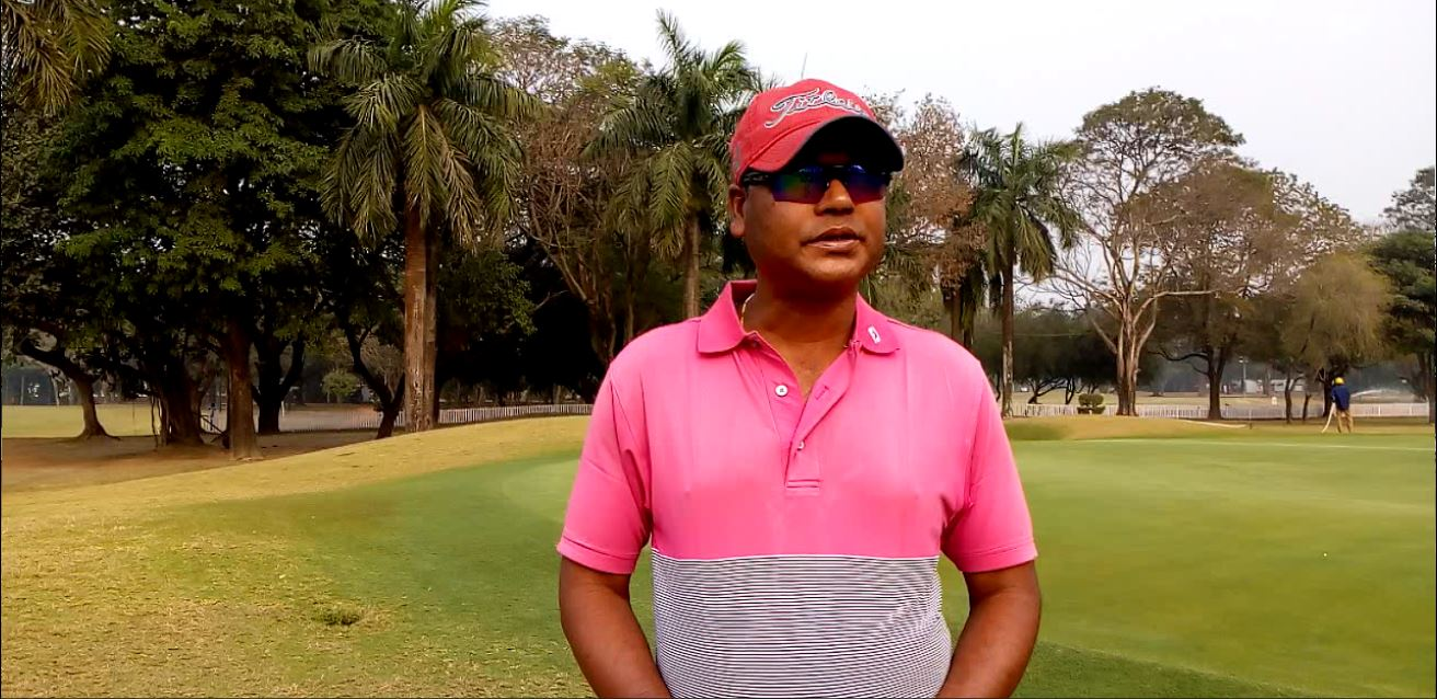 Rafique Ali, the youngest of the golfing Ali brothers. (Picture courtesy: Arka Bhattacharya)