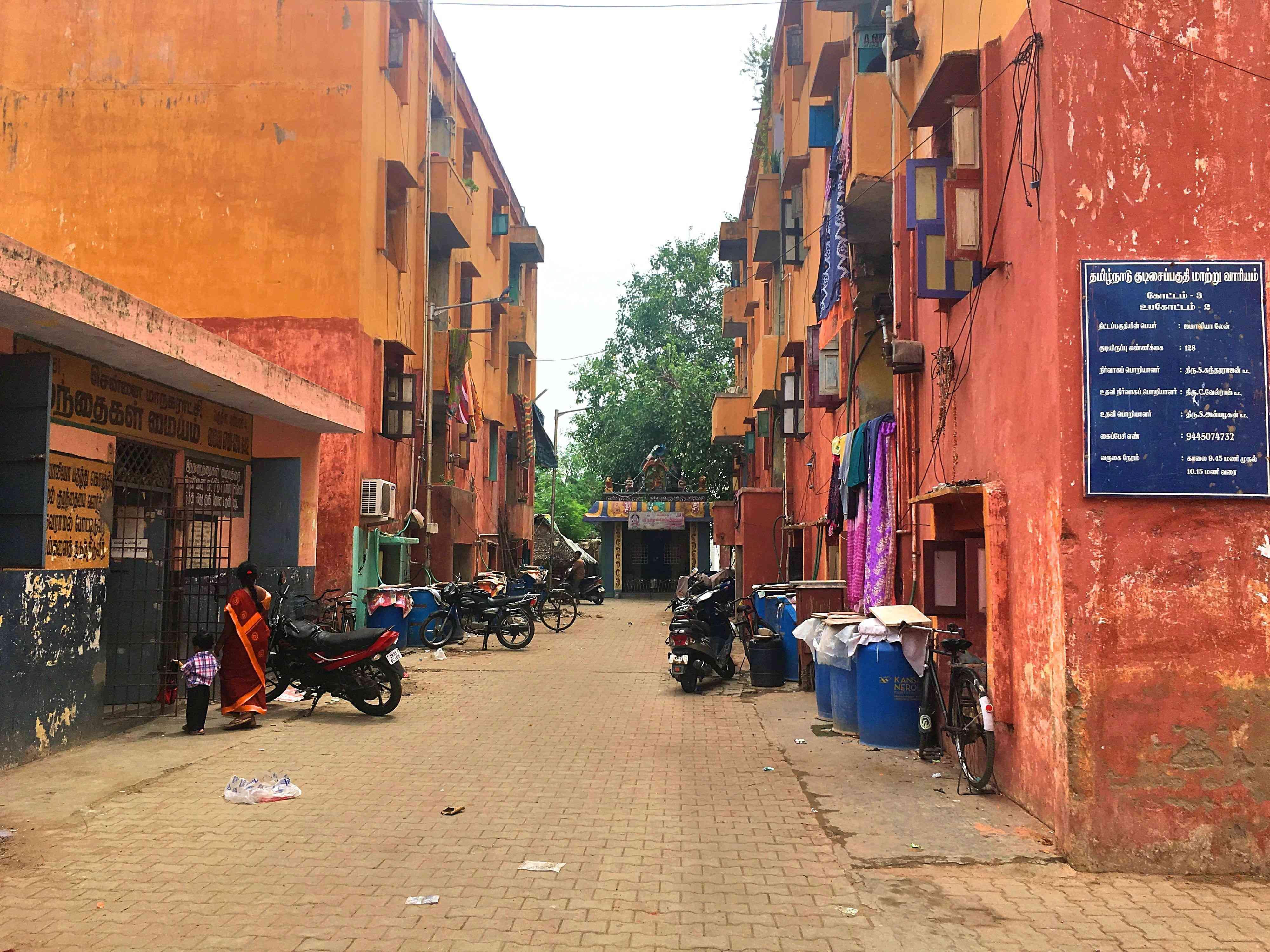 Jamaliah Lane in Perambur. Photo by Sruthi Ganapathy Raman.