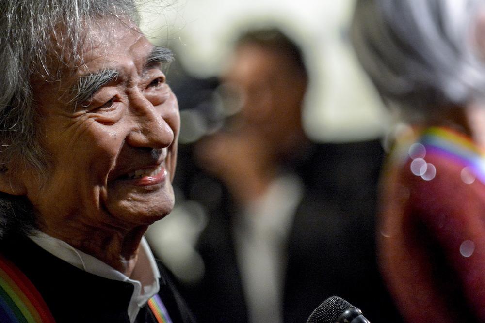 Seiji Ozawa. Image credit: James Lawler Duggan / Reuters
