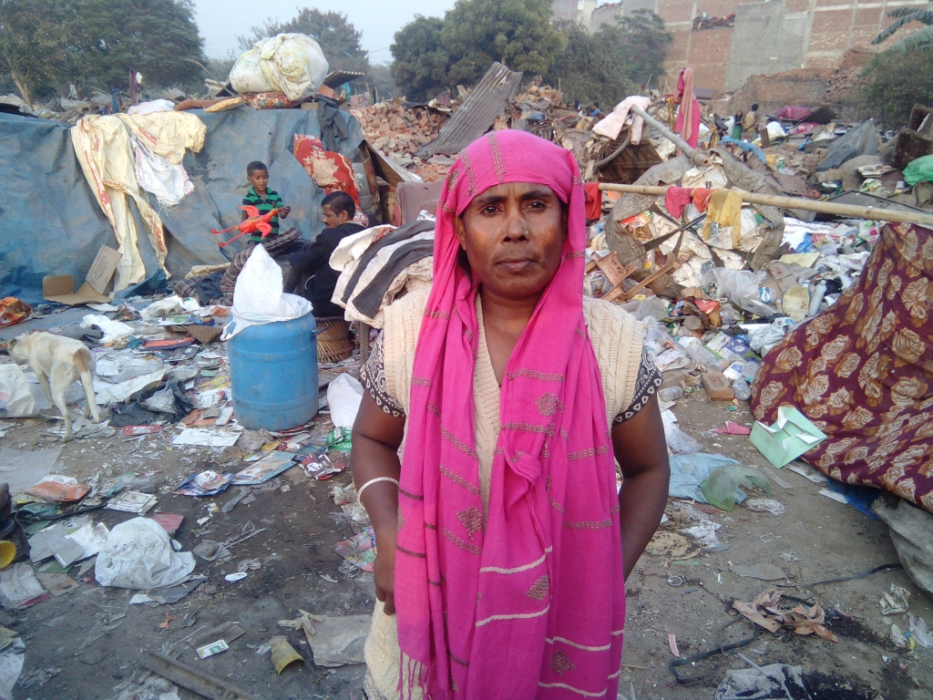 Dalia Begum was among the ones who could not save anything at all. Photo: Abhishek Dey