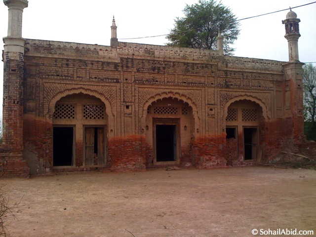 Sahiban's mosque