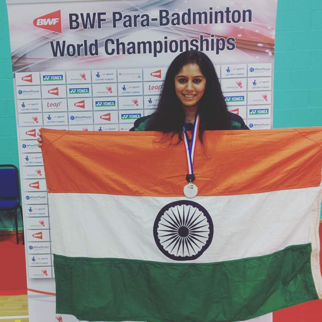 Para badminton player Manasi Joshi, who helped start the WhatsApp group for women amputees. (Photo: Manasi Joshi/Facebook)