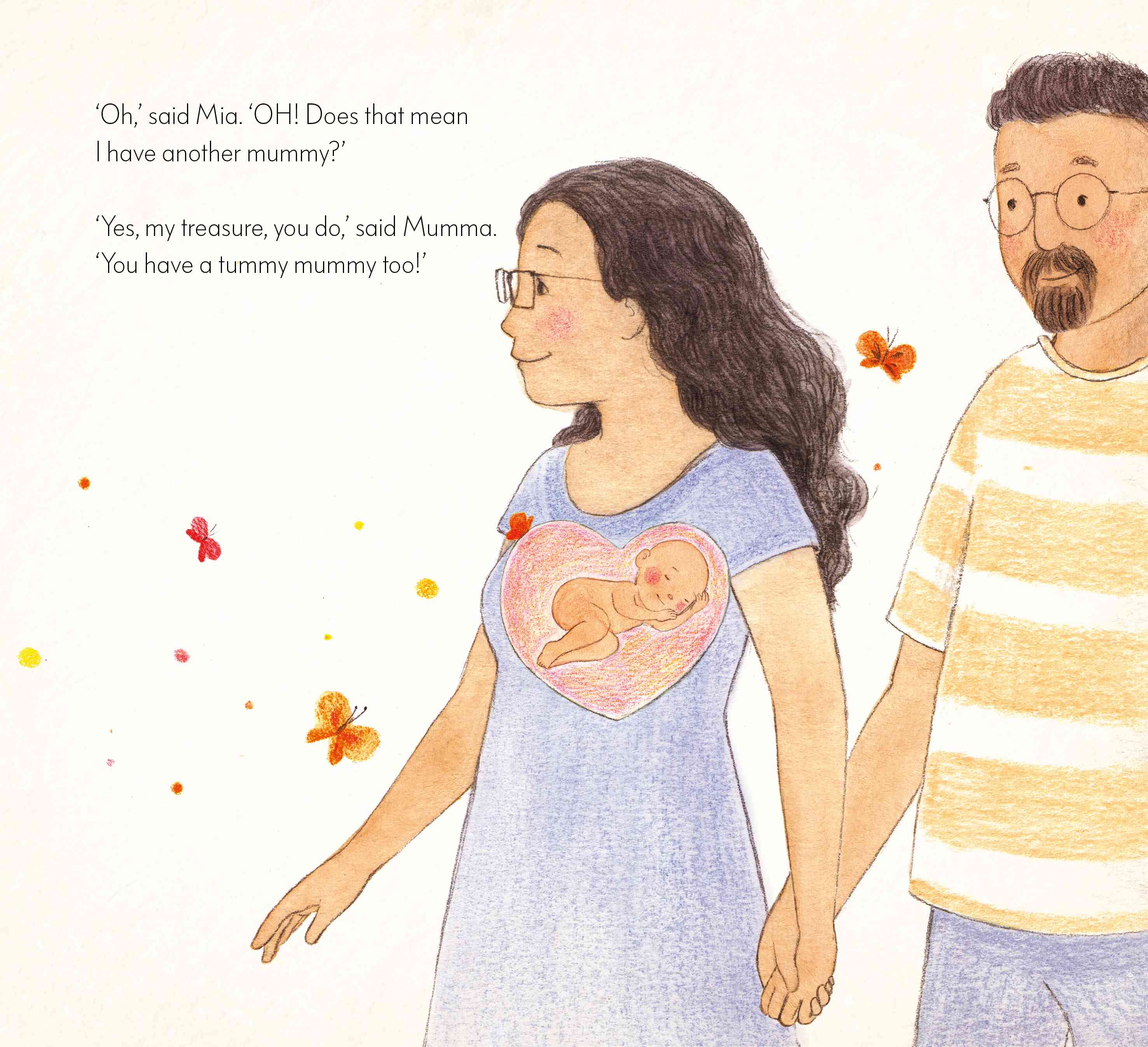 Illustration by Ruchi Mhasane from 'In My Heart'