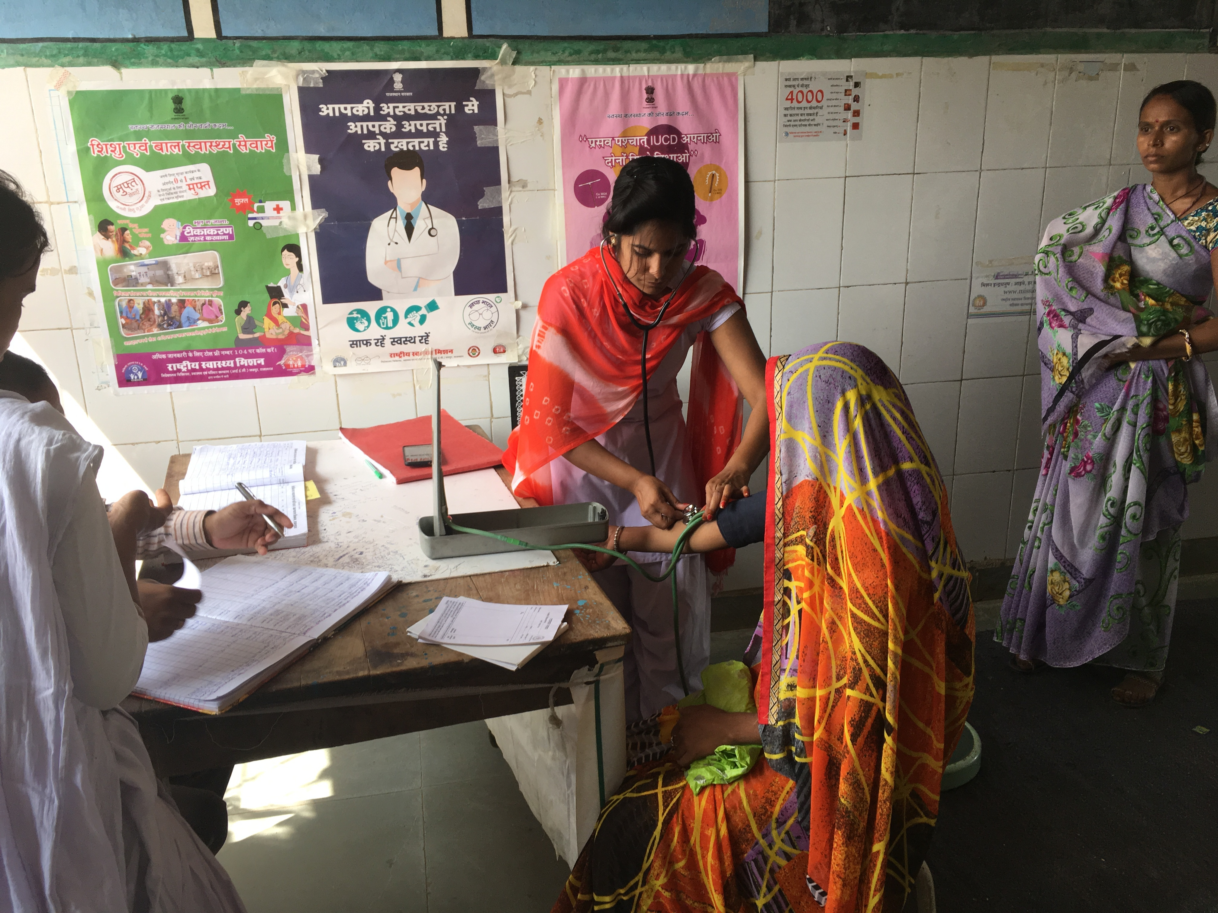 For the government's ambitious National Health Protection Scheme to work well, primary health centres in India must be strengthened. (Credit: Menaka Rao)