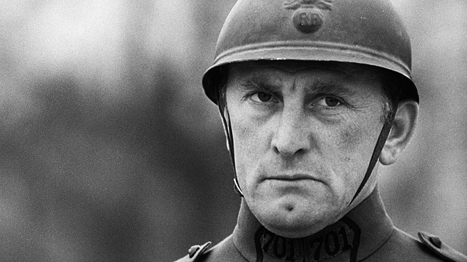 Kirk Douglas in 'Paths of Glory'.