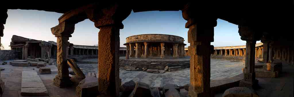 Chausath Yogini Temple, Mitawali: This magnificent circular structure, with a radius of 18.5 m, was discovered at Mitawali, near Gwalior, and dates back to the 8th century. The temple is dedicated to the collectively worshipped chaunsath (64) yoginis (female divinities): the fierce, bloodthirsty female assistants of Shakti, a form of Devi or the Great Goddess. A female counterpart, counterbalance and equal of the Hindu god Shiva, Shakti is power and manifests herself in several forms, from the sublime to the terrifying. The yoginis are engraved on the temple's circular inner wall and its 64 rooms, each of which enshrines a lingam, Shiva's phallic symbol.