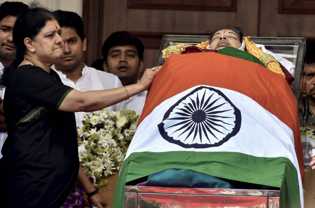 Jayalalithaa had very few people who stood by her in life and death. The only person who remained was VK Sasikala. (Credit: PTI)