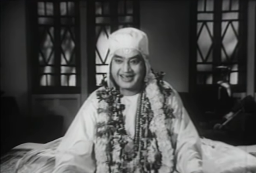 Charuprakash Ghosh in Mahapurush (1965). Courtesy RDB Productions.